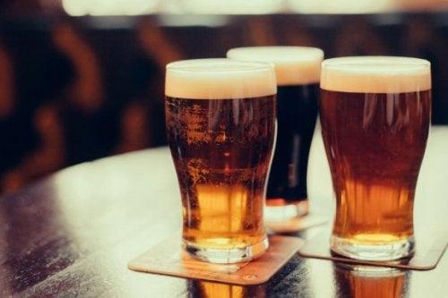 La bière peut favoriser la gouttes