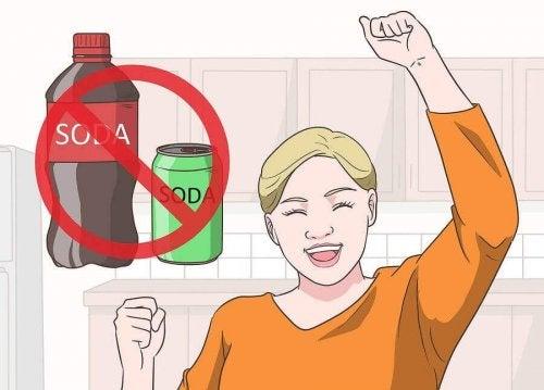 Les boissons sucrées peuvent favoriser la goutte
