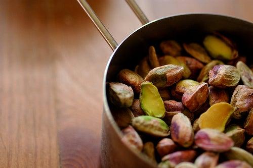 pistaches contre anémie