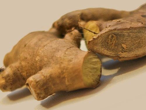 racine-de-gingembre contre l'aphonie