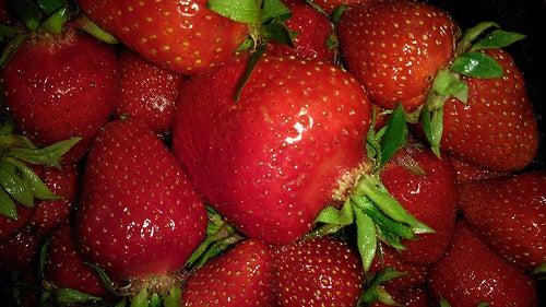 les fraises pour soigner la pneumonie