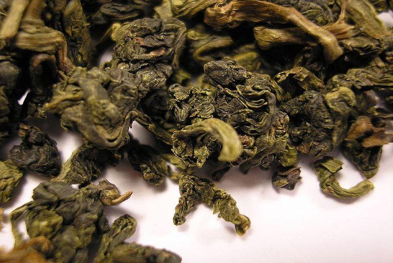 le thé oolong, un des types de thé au gout de fruit