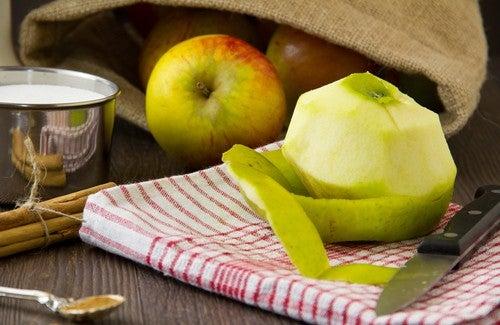 De la peau de pomme pour maigrir