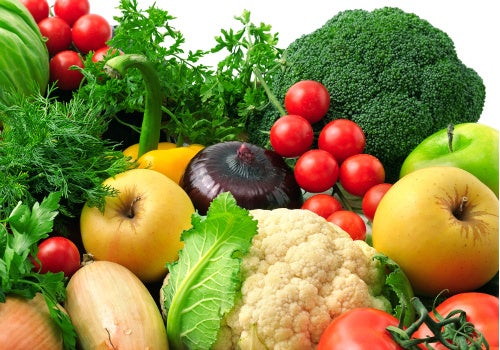 fruits légumes alimentation équilibrée