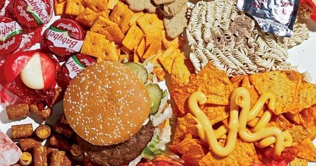 malbouffe fast food mauvais aliments