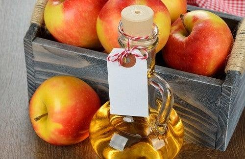 ne pas oublier le vinaigre de pomme  Cidre