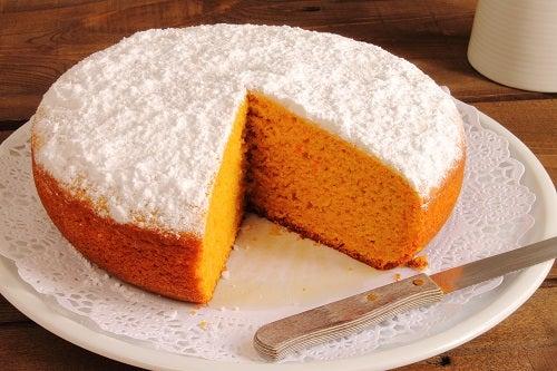 Recette du gâteau à la carotte