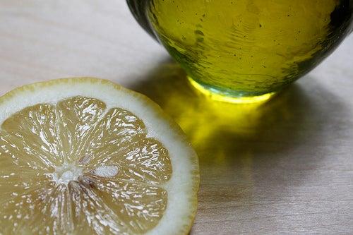 Huile et citron pour prendre soin du foie