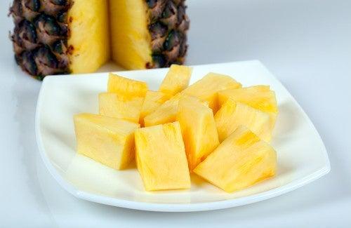 Quatre recettes basses calories avec de l'ananas