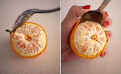 Créer des bougies naturelles avec des pelures de fruits.