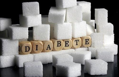 Le diabète de type 2 et le sucre.