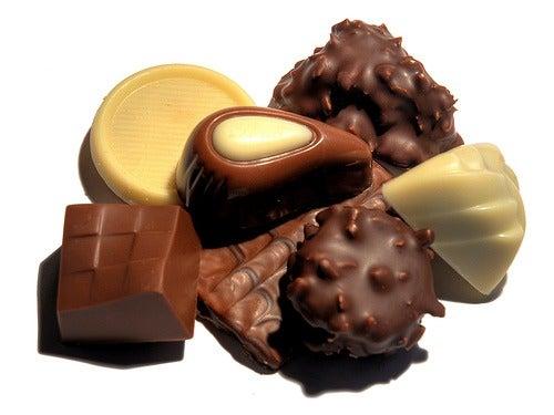 Le chocolat contre la déprime.