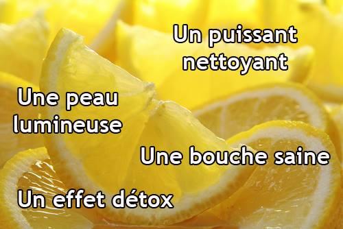 Le citron aide à éliminer les taches brunes.