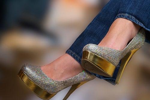 chaussures avec talons