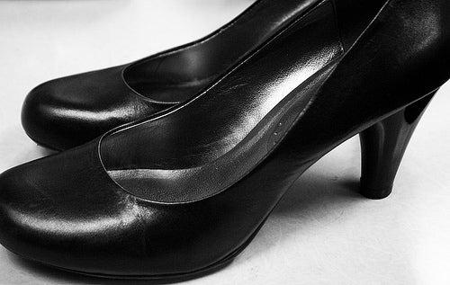 chaussures noire avec talons
