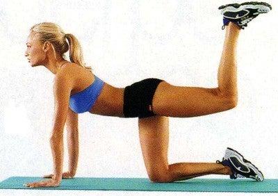 Élévation des jambes pour diminuer son tour de taille.