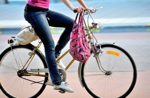 Faire de la bicyclette