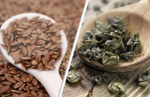 Les graines de lin et le thé vert contre le cancer ?