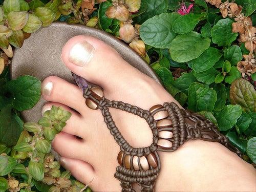 de beaux pieds