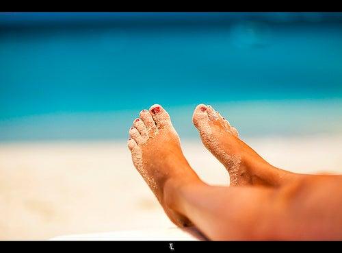 des massages pour des pieds parfaits