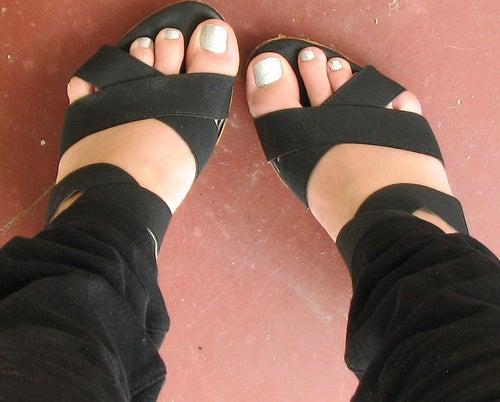 pieds est sandales