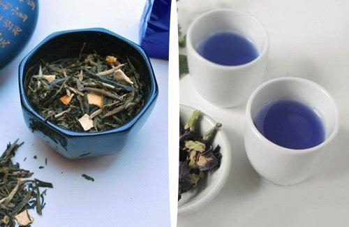 Du thé bleu pour perdre du poids naturellement