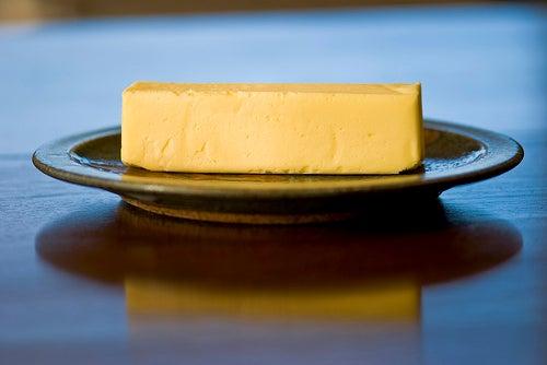 Le beurre pour la peau sèche.