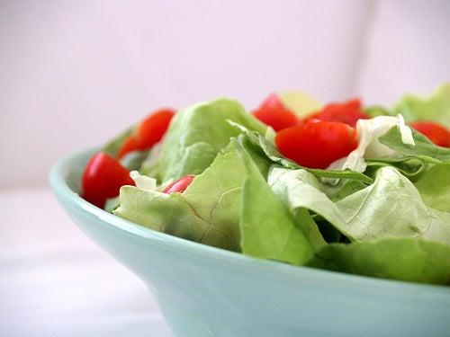 Salade contre les gonflements