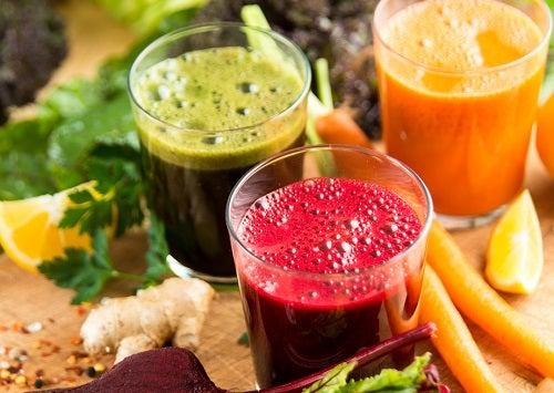 Les jus de fruit en remèdes maison.