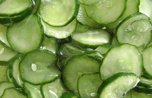 Le concombre contre la rétention d'eau