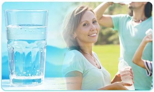 L'eau pour nettoyer de manière naturelle le foie.