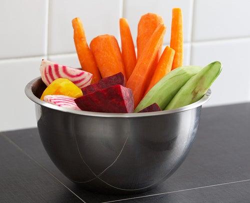 Légumes contre la faim.