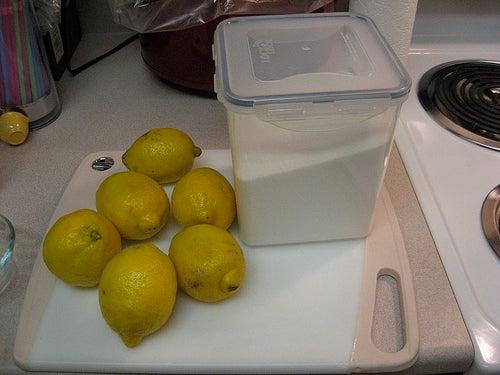 Sucre et citron pour faire un sugaring