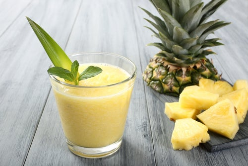 Milk-shakes à la banane.