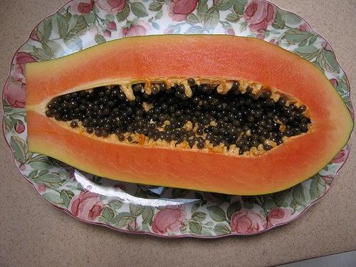 la papaye permet de calmer le reflux intestinal