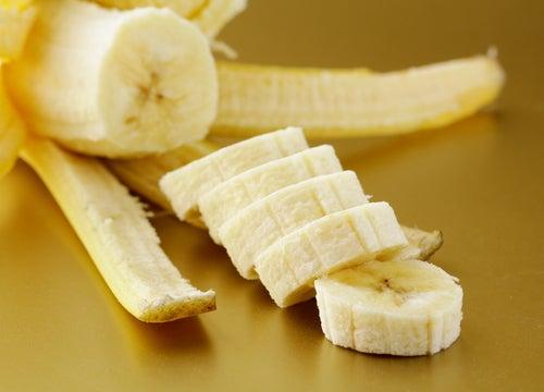 sucre et banane pour exfolier votre peau