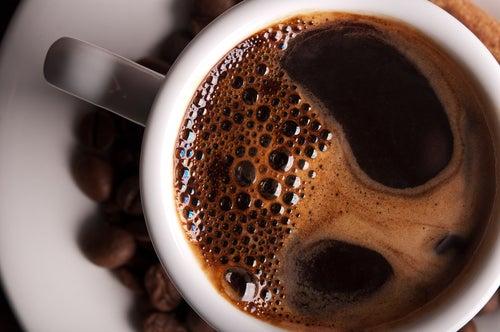 le cafe parmi les boissons recommandées.
