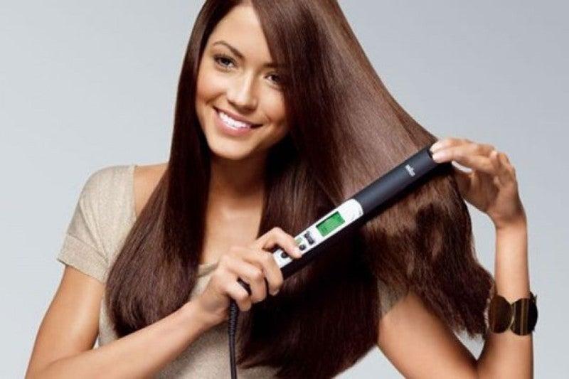 n'abusez pas du fer à lisser pour accélérer la pousee des cheveux