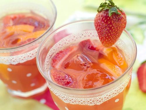 Jus de fraise pour votre pancréas.