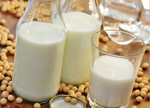 le lait de soja pour arrêter de ronfler