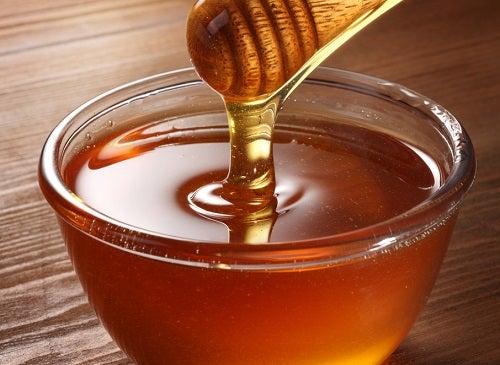 le miel pour le traitement d'une brûlure légère