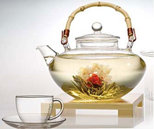 Le thé pour vous affiner.