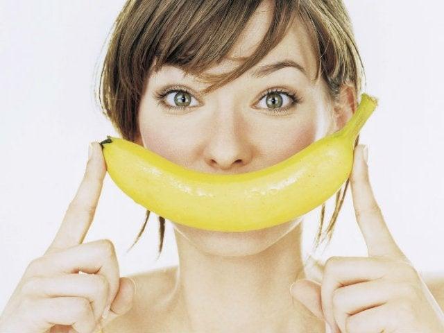 La peau de banane pour la peau.