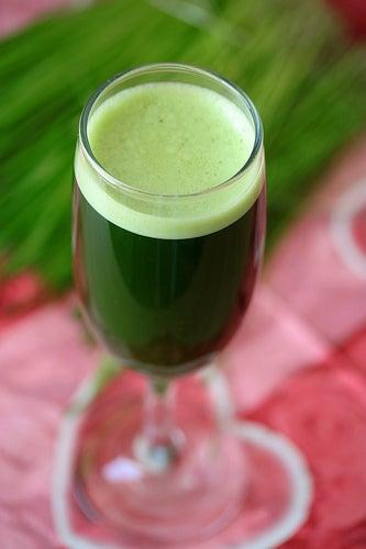 La boisson verte pour maigrir.