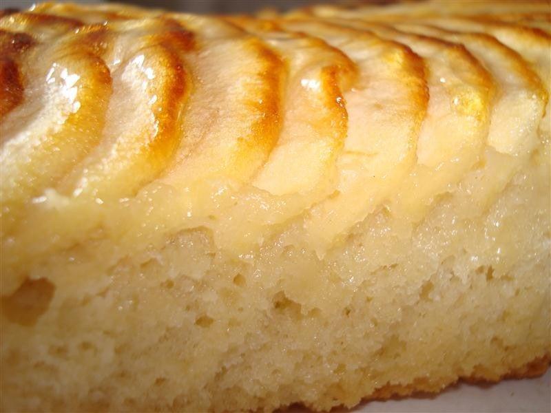 Recette du gâteau aux pommes.