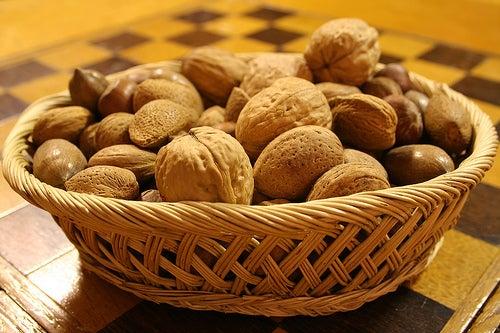 Les noix font partie des aliments antidépresseurs.