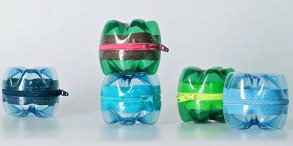 les bouteilles en plastique