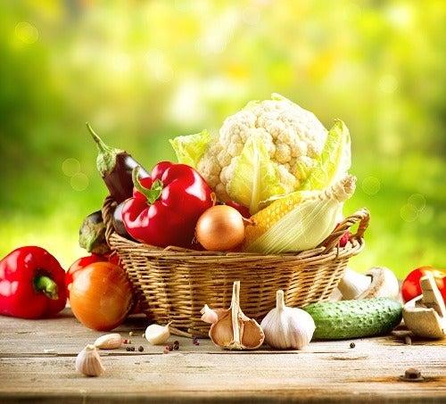 Recettes végétariennes bonnes pour la santé.