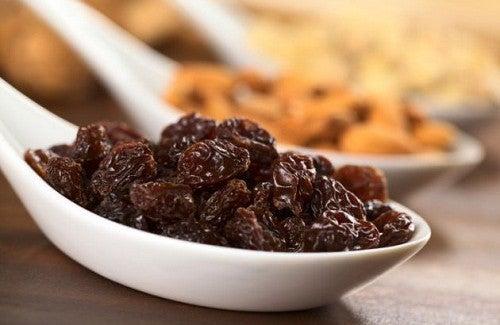 Les raisins secs: a quoi servent-ils? Comment les consommer?