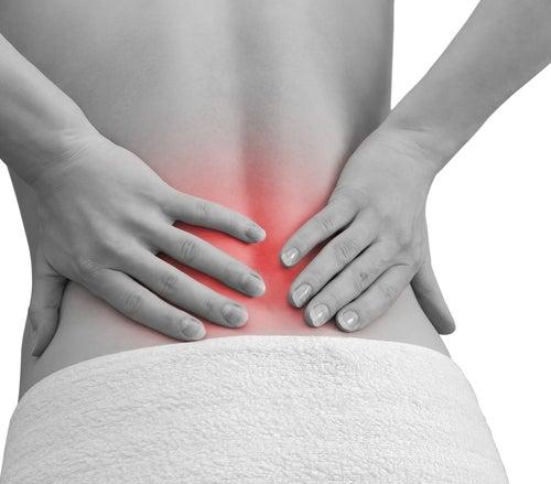 Les complots sur le traitement de lépine dorsale